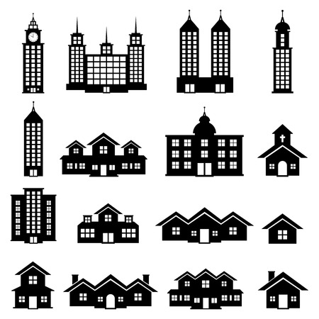 Building Vector Stock Vector - 28031350