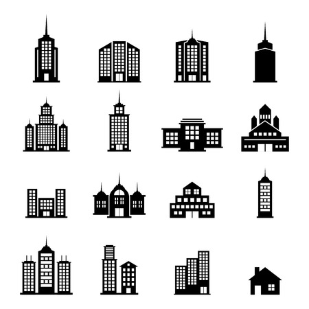 house clip art: Building Vector