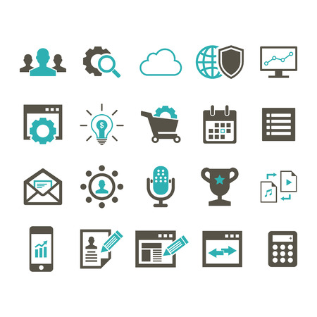 SEO Icon Illustration