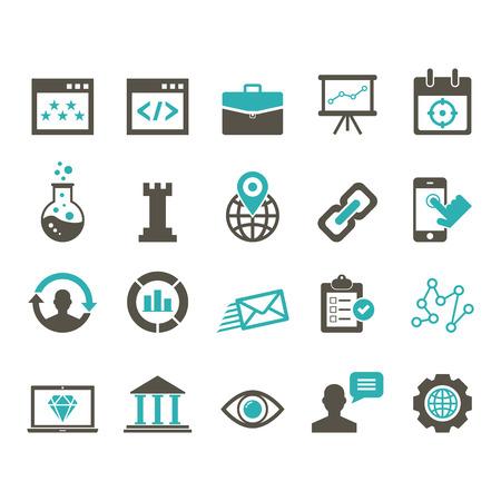 consultancy: SEO Icon Illustration