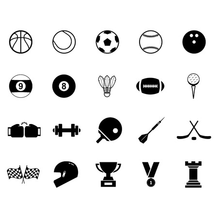 sport balls: Sport Icon Illustration