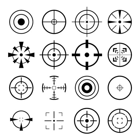 cross hair: Crosshairs Icon