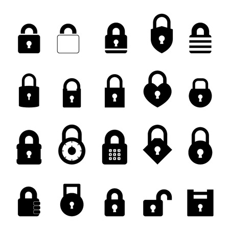padlock: Padlock Icon Illustration