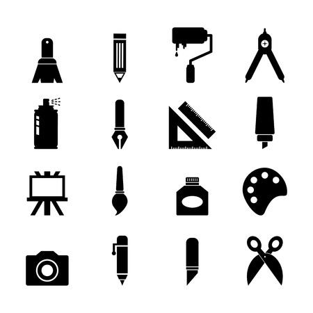 tool icon: Art icona dello strumento Vettoriali