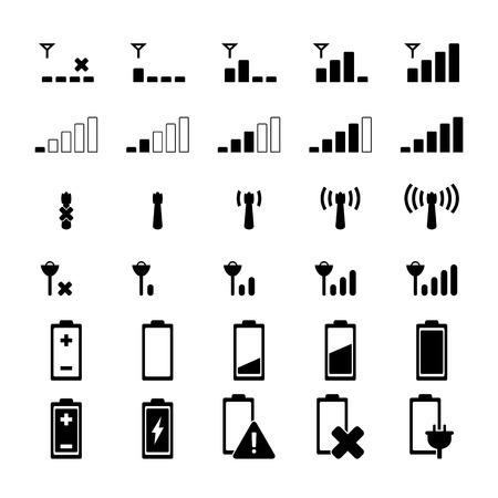 Indicator icon Vector