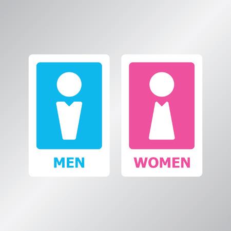 restroom: Restroom sign