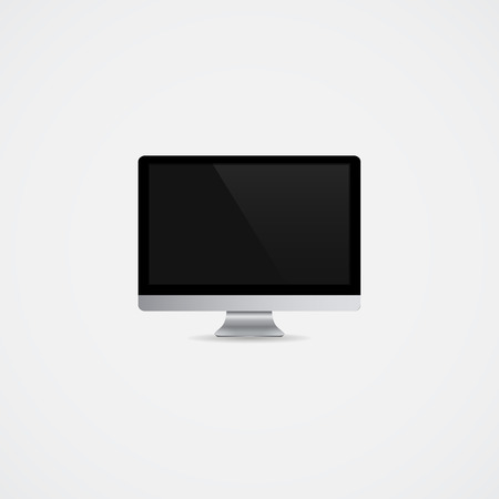 monitor: Monitor Vector Illustration