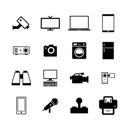 Electronic Icon Vektorové ilustrace
