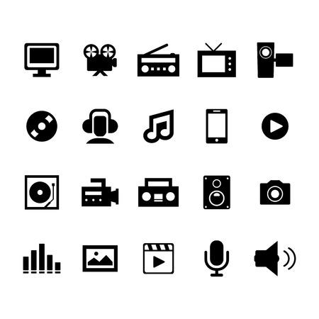 music dj: Mutimedia Icon