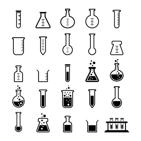 Tube chimique icône