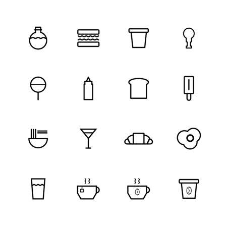 Food and Beverage Illustration