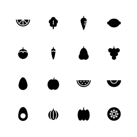 Fruit and vegetable icon