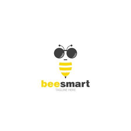 Template logo Bee Smart