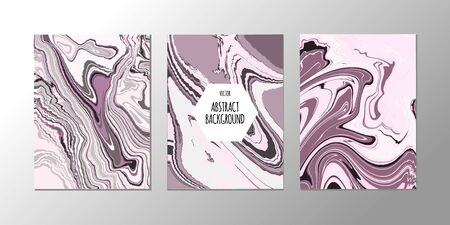 Vector abstract design trend to backgrounds marble texture, abstract fluid
