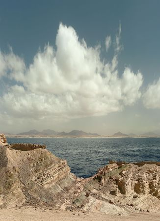 Clouds over the Red Sea