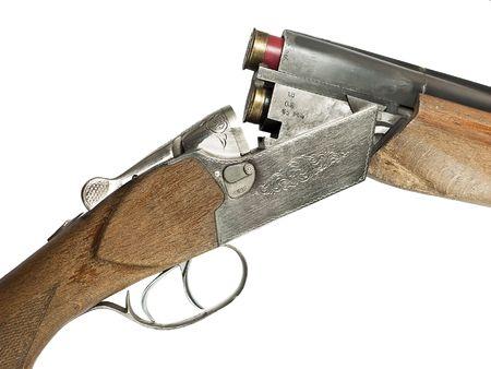 Hunting shotgun.