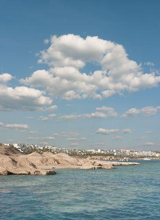 sinai peninsula: The resort of Sharm el Sheikh in Egypt