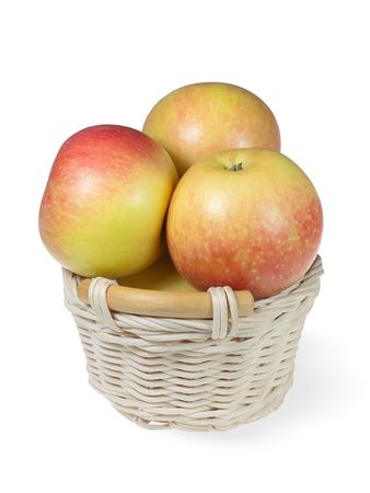Apples in the basket photo