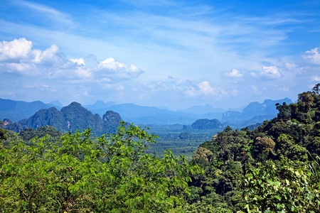Thai landscape photo