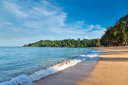 Marine landscape   Khao Lak Beach  Thailand  photo