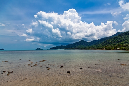 The island of Koh Chang in Thailand Stock Photo - 13803405