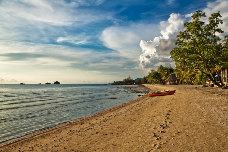 The island of Koh Chang in Thailand  photo