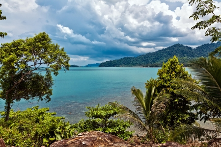 The island of Koh Chang in Thailand Stock Photo - 13803548