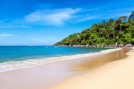 Khao Lak beach in Thailand Stock Photo - 14946698