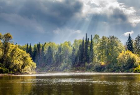Autumn Landscape Stock Photo - 16404993