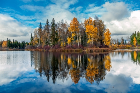 Autumn in Siberia photo