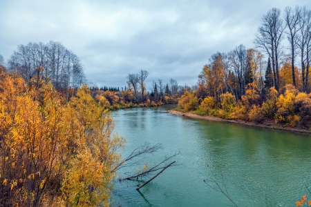 Autumn in Siberia Stock Photo - 16405077
