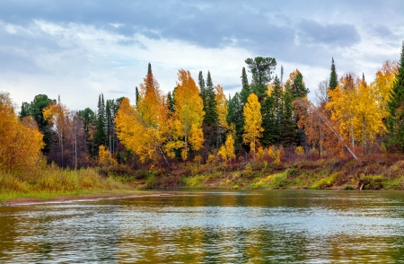 Autumn in Siberia Stock Photo - 16405019
