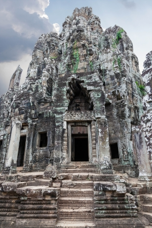 Prasat Bayon. The ruins of Angkor Thom Temple in Cambodia photo