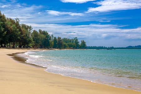 Khao Lak beach in Thailand