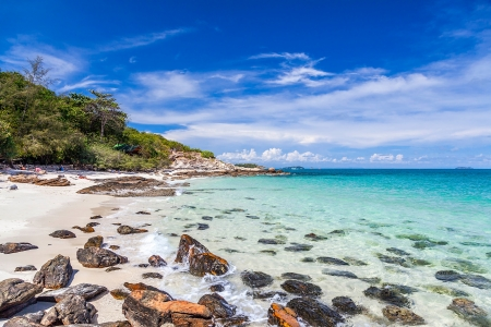 scenical: Beautiful sea landscape. Koh Samet island in Thailand