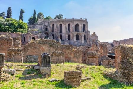 palatine: Roman Forum   Stock Photo
