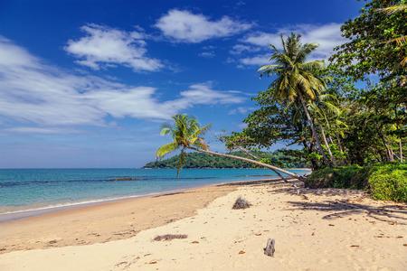 Tropical beach in the Thai province of Khao Lak