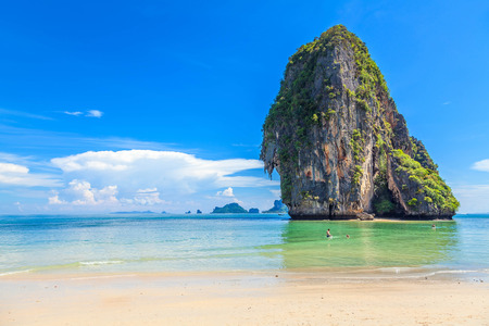 railey: Railey beach in Krabi Thailand