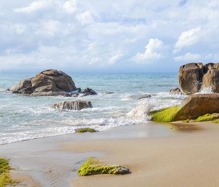 cerulean: Azure sea of ??Thailand.