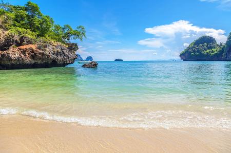 Tropical paradise. Railey Beach in Krabi province in Thailand