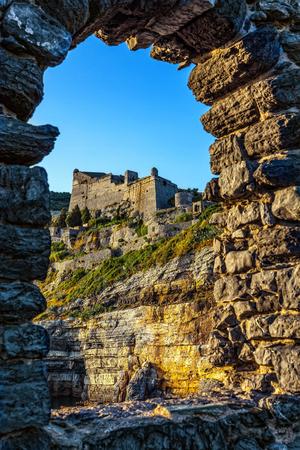 Doria Castle in the Italian town of Portovenere.