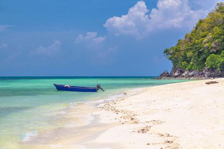 Playa en el Golfo de Tailandia Foto de archivo