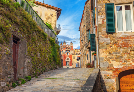 dilapidated wall: Montecatini Alto. Italy.