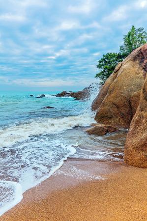 Dawn at Coral Cove beach. Koh Samui, Thailand.