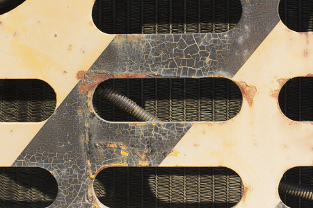 aircraft rivets: rust texture,old car,crack painted,metal surface