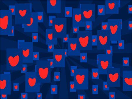Love card texture