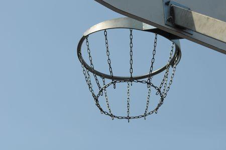 backboard: basketball backboard Stock Photo