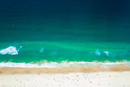 gold coast australia: Gold Coast Surfers Paradise The Beach, view from Q1, Australia Stock Photo