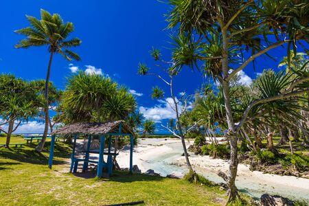 Eton Beach on Efate Island, Vanuatu, near Port Vila - famous beach on the east coast Imagens