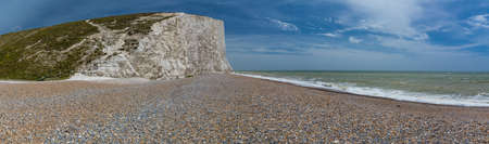 Severn Sisters white cliffs over the ocean at Cuckmere, in the South Downs National Park, East Sussex, UK Reklamní fotografie